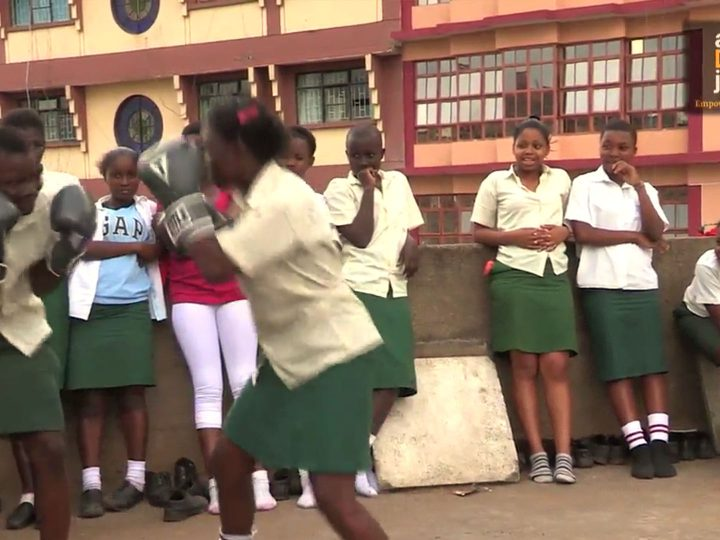 Boxing Girls in Kariobangi