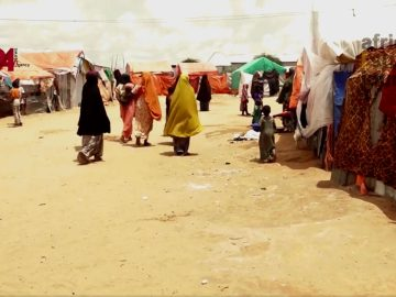 Somalia Floods Opali Camp in Mogadishu