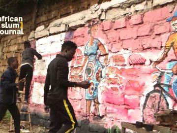 Painting Away Covid-19 in Kibera